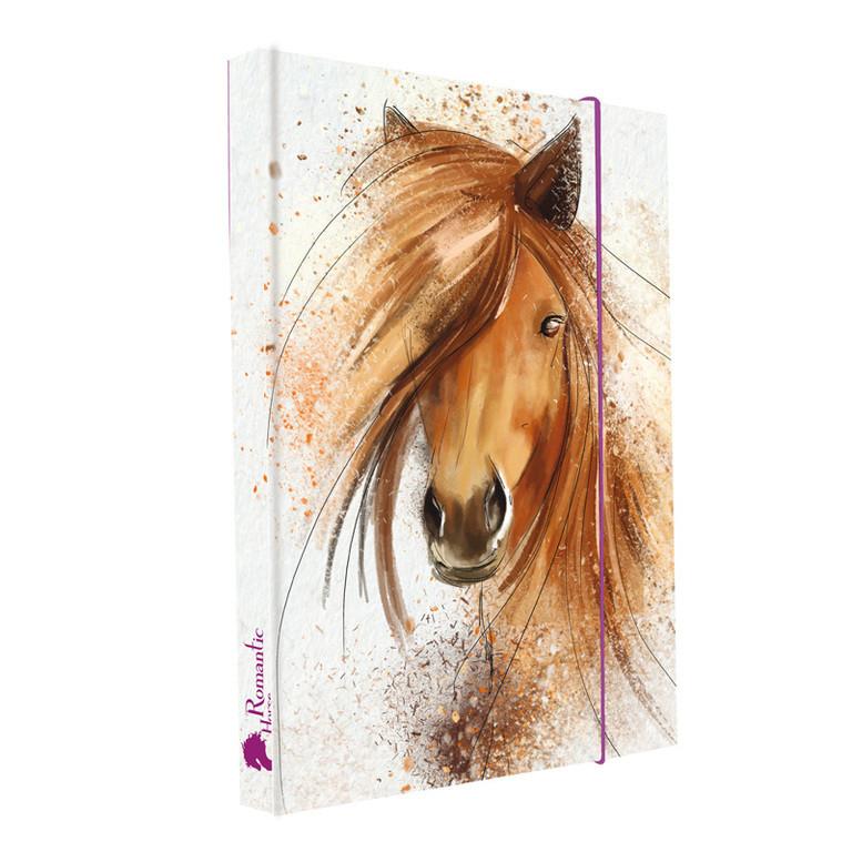 Desky na sešity Heftbox A5 Kůň