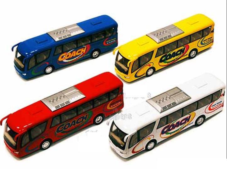Kinsmart Autobus kovový 17,5 cm