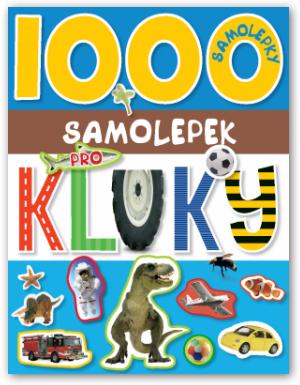1000 samolepek pro kluky