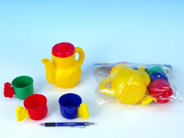 Nádobí - Čajová sada plast v sáčku