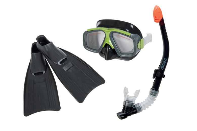 Brýle, ploutve, šnorchl Intex 55959 Surf Rider Sports Set