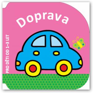 Knížka Doprava – pro děti od 1 do 3 let