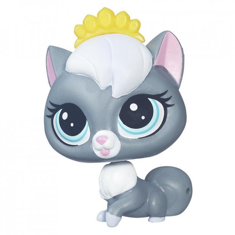 Littlest Pet Shop Jednotlivá zvířátka - CLOUDY COALSON