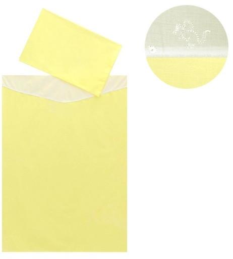 Dětské povlečení 2dílné Melisa Yellow 130 x 90 cm ČR nezobra