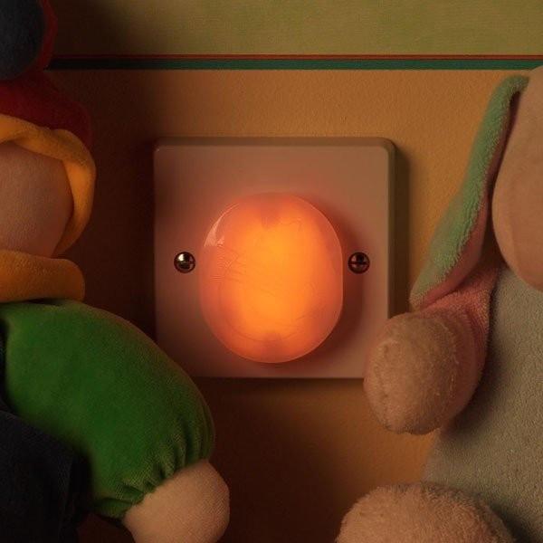 Clippasafe noční světlo do zásuvky