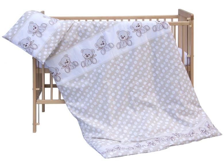 Dětské povlečení 2dílné - Scarlett Kuba - Béžová 135 x 100 cm