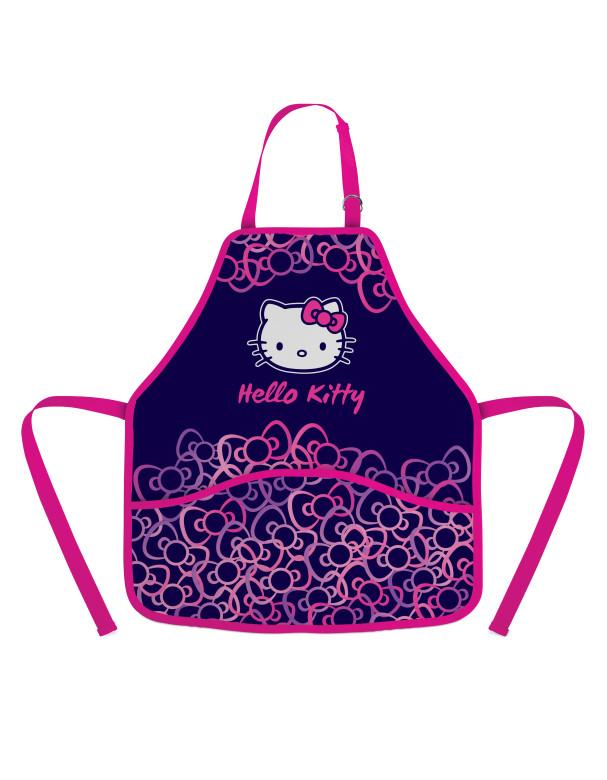 Zástěra do výtvarné výchovy Hello Kitty