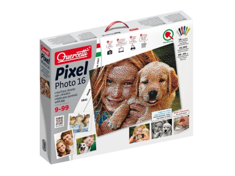 Mozaika z portrétu - Pixel Photo 16