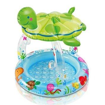 Bazén želvička se stříškou 102x107 cm Intex 57119