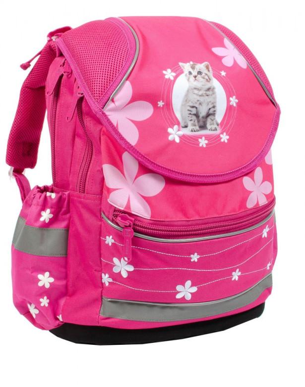 Anatomický školní batoh PLUS kočka 2015