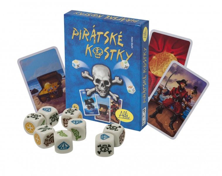 Albi - Pirátské kostky