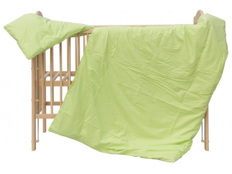 Dětské povlečení 2dílné - Scarlett Blanka - zelené