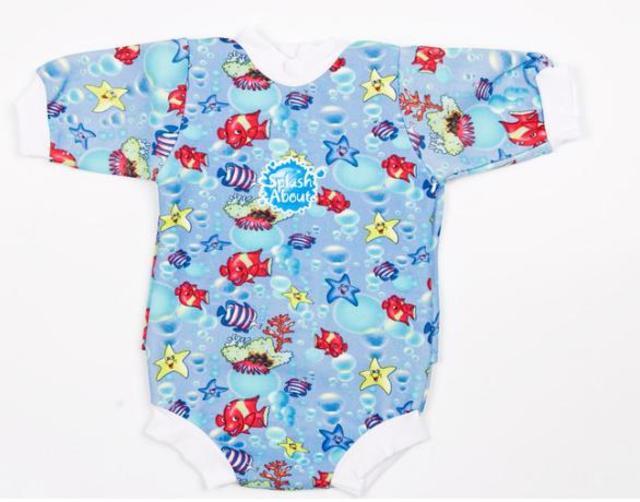Baby neoprén-body - rybičky
