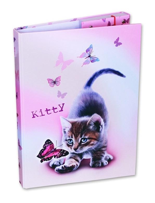 Desky na sešity Heftbox A4 Kitty Emipo