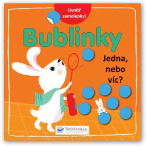 Výtvarná knížka se samolepkami - Jedna, nebo víc? – Bublinky