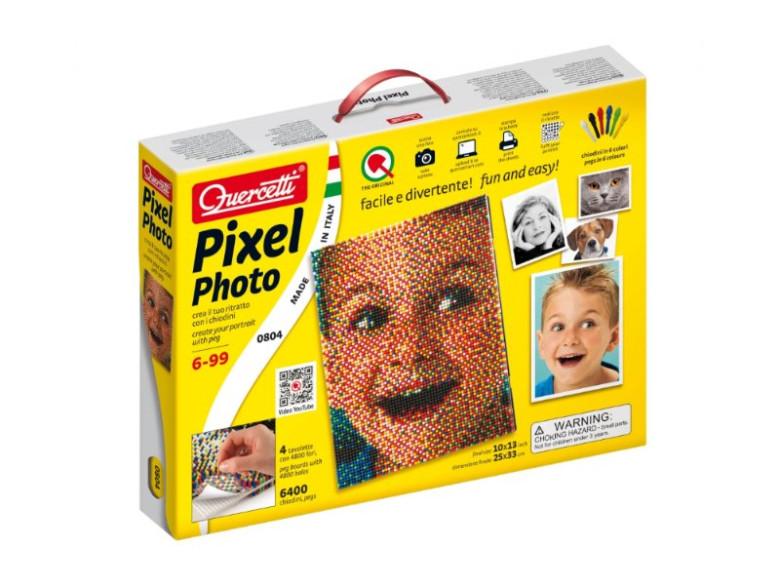 Mozaika z portrétu - Pixel Photo 4