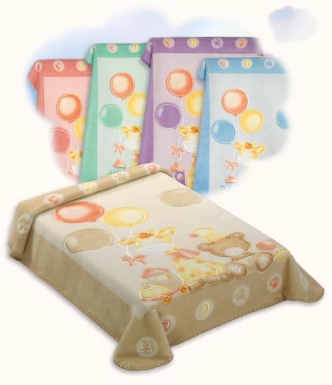 Španělská deka 546 Scarlett -  80 x 110 cm