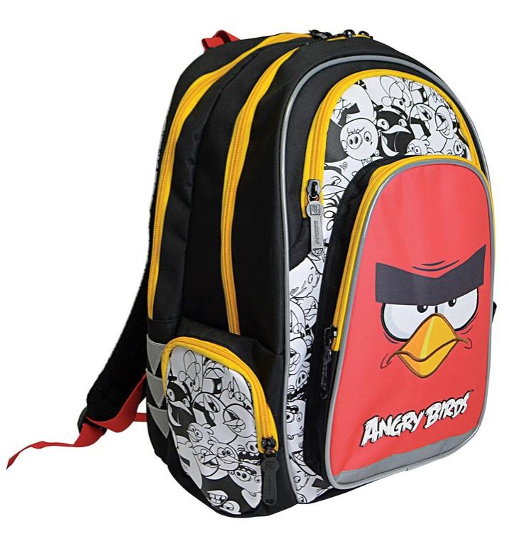 Karton P+P Anatomický školní batoh ANGRY BIRDS
