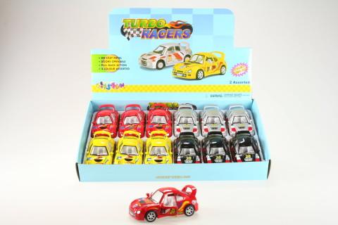Kinsmart Turbo racers
