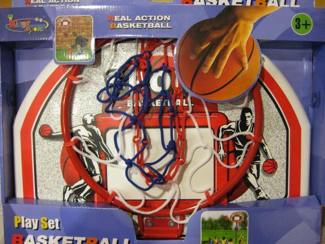 Basketbalová deska s kovovou obroučkou nezobra