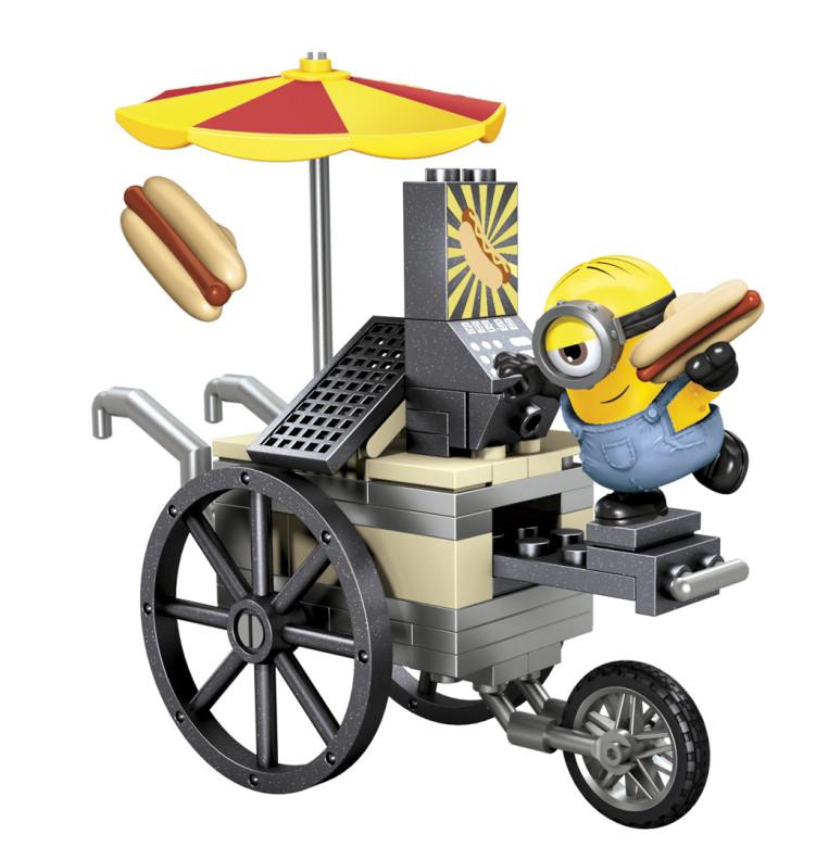 Mega Bloks Mega Bloks Mimoňové základní set - Stuart s vozíkem