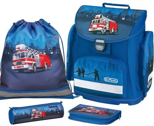 Školní batoh Herlitz Midi Hasič auto vybavený nezobra  7e5099d7d6