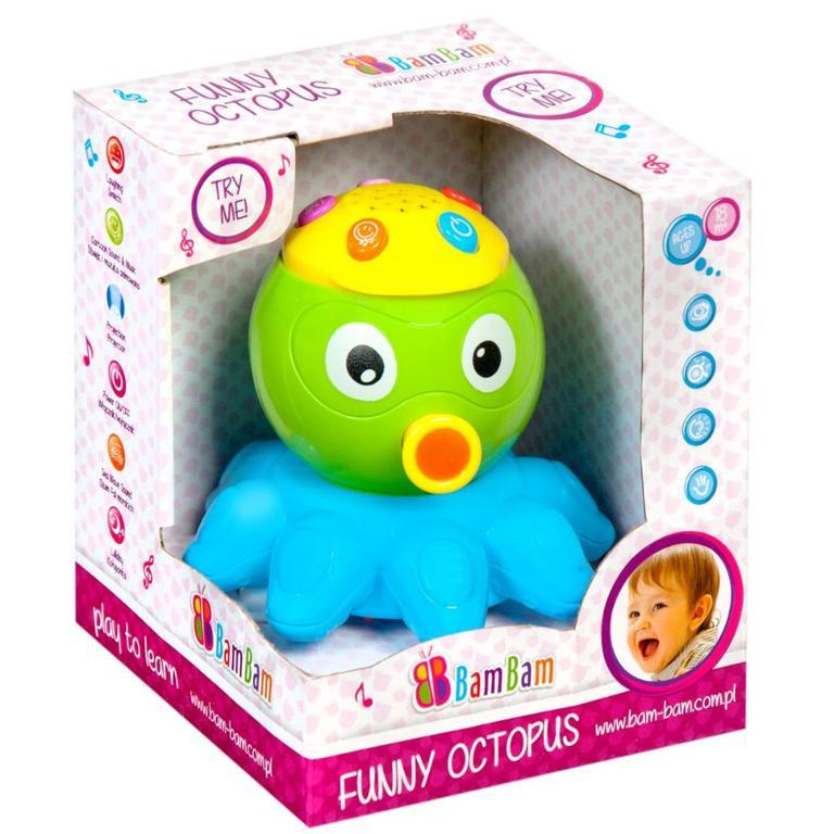 Zábavná chobotnice Bam Bam