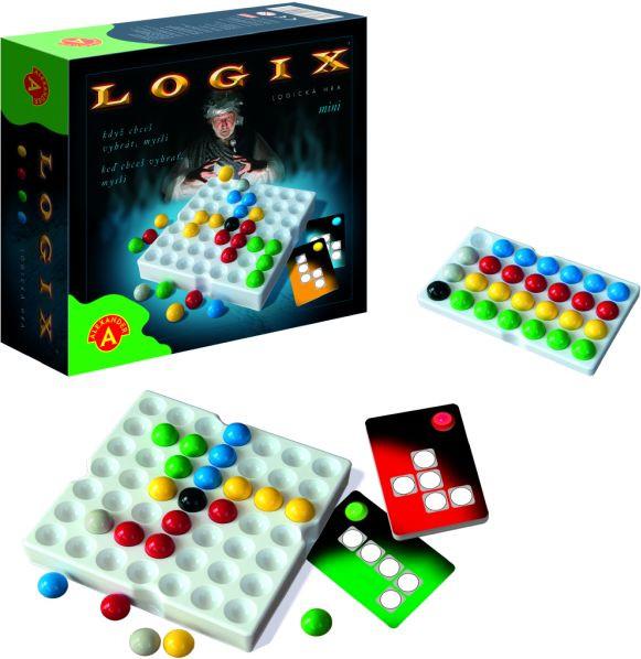 Pexi Logix - mini společenská hra logik v krabici