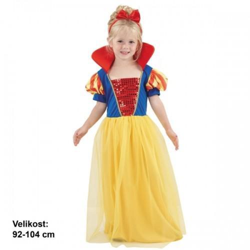 e478879ba875 Dětský kostým na karneval Sněhurka 3 - 4 roky