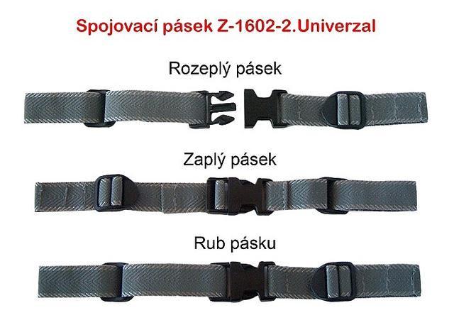 Spojovací pásek lze použít na všechny modely školních aktovek a batohů Emipo