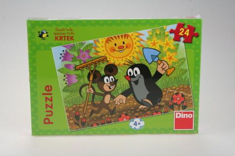 Puzzle Krtek 24 dílků