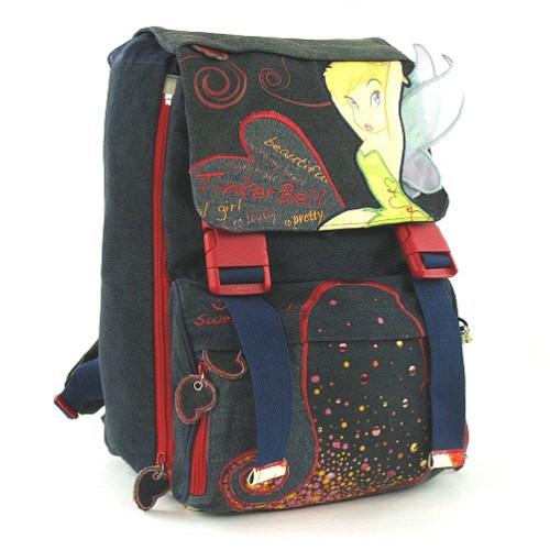Školní batoh Tinker Bell - víla s křídly