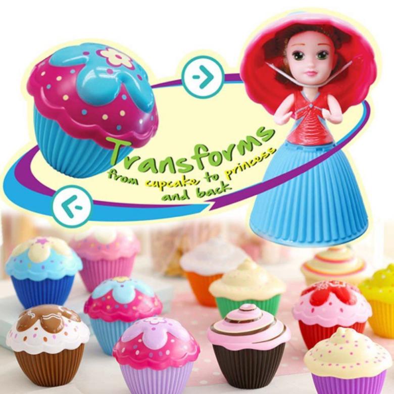 Panenka mini Cupcake surprise muffin s překvapením série 2