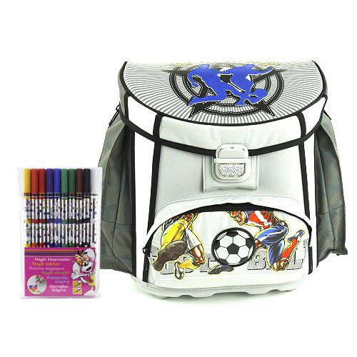 Školní aktovka Cool Victory set + Fixy Diddl - fotbal