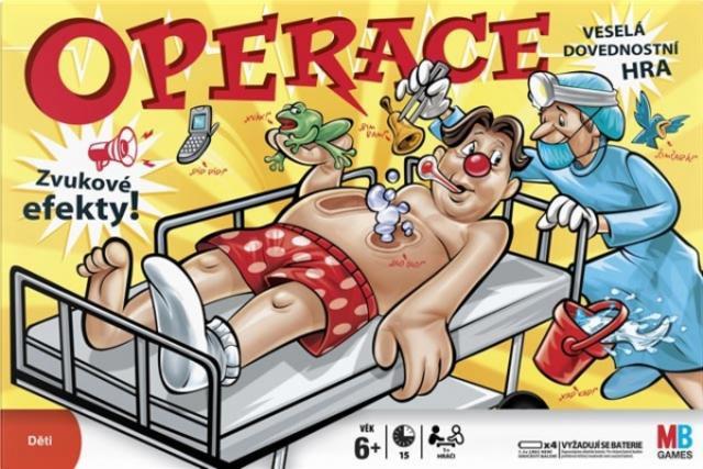 Společenská hra - Operace