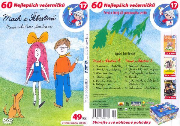 DVD - Mach a Šebestová