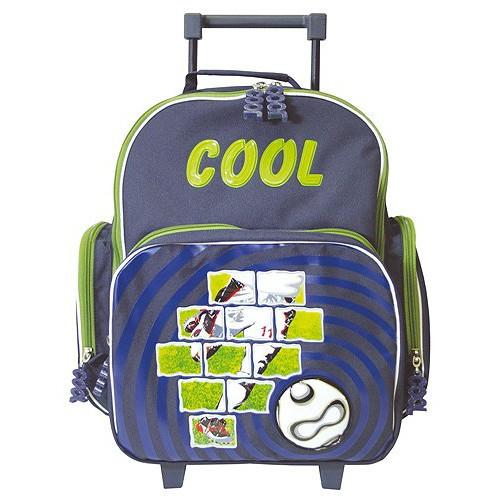 1e4492d48 Školní batoh trolley Cool - Fotbal 3D míč | Nejbaby.cz