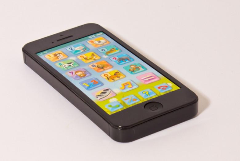 Albi - Černý dětský telefon nezobra