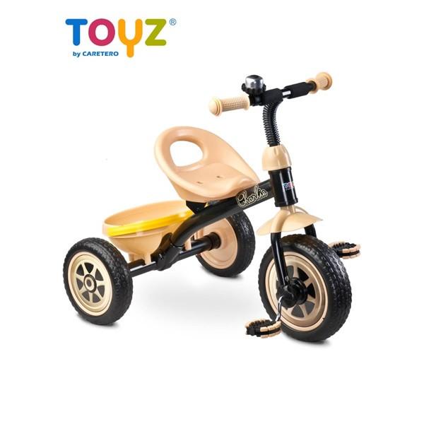 Dětská tříkolka Toyz Charlie BÉŽOVÁ
