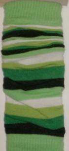 Design Socks Dětské návleky na nožičky široké pruhy TYP 56