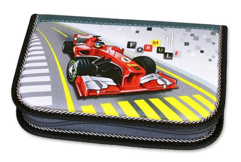 Školní pouzdro 2-klopy plněné Formule Racing Emipo