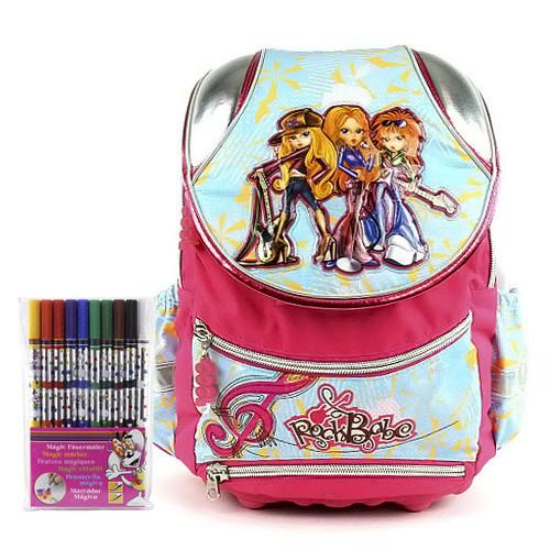 Školní batoh Cool set - fixy Diddl a batoh Cool RockBabe  54c9e304a1
