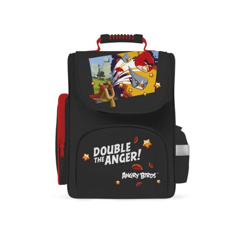 Anatomický batoh ERGO KIDDY Angry Birds černo-červený  12fdc33f1a