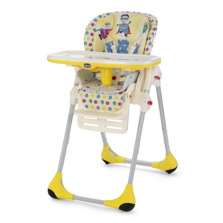 Chicco Jídelní židle Polly 2v1 - Energy žlutá Rok 2016