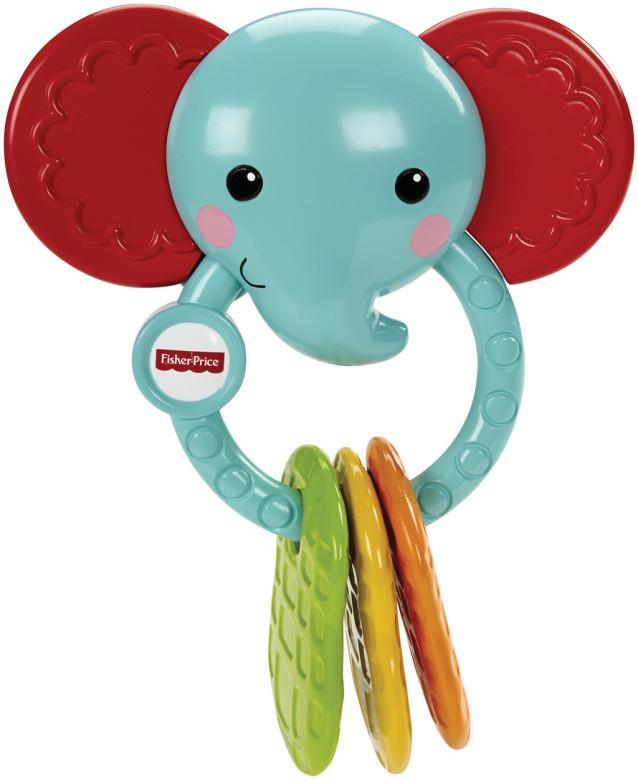 Kousátko slon Fisher Price nezobra