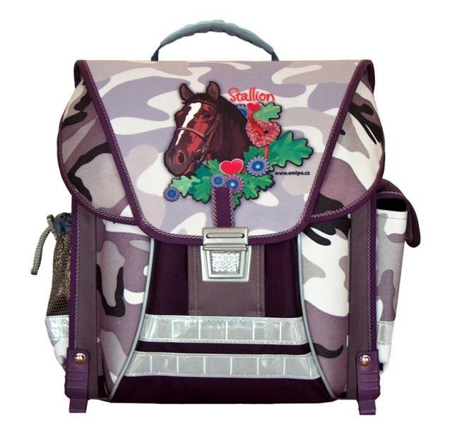 Akce %Výprodej Školní batoh Stallion Emipo 4a27337a9f