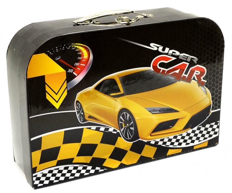 Kufřík lamino Premium Auto žluté