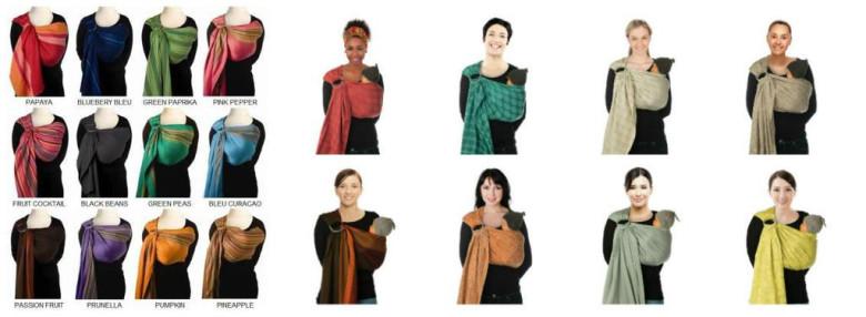 BB-SLING šátek na nošení dětí  7b4d580f0d