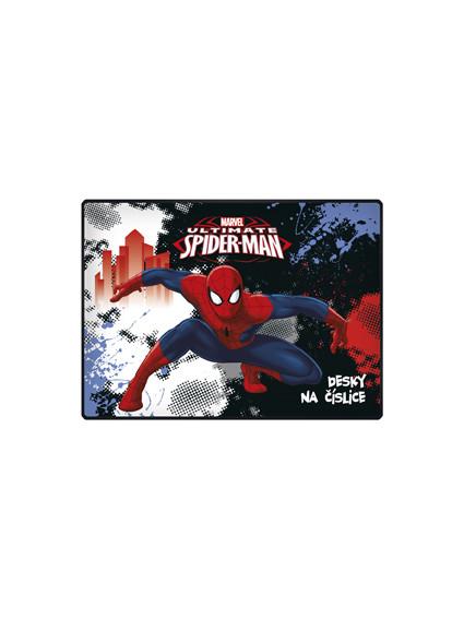 Desky na číslice Spiderman nezobra