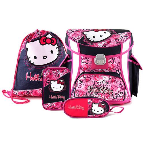 Školní set Hello Kitty - Multi Hearts